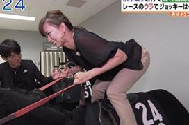 関西の美人女子アナが地上波で騎乗位!これはエッチだw