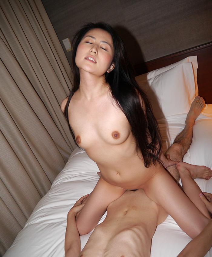 騎乗位 セックス 画像 87