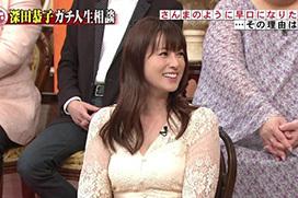 35歳になった深田恭子の肉体