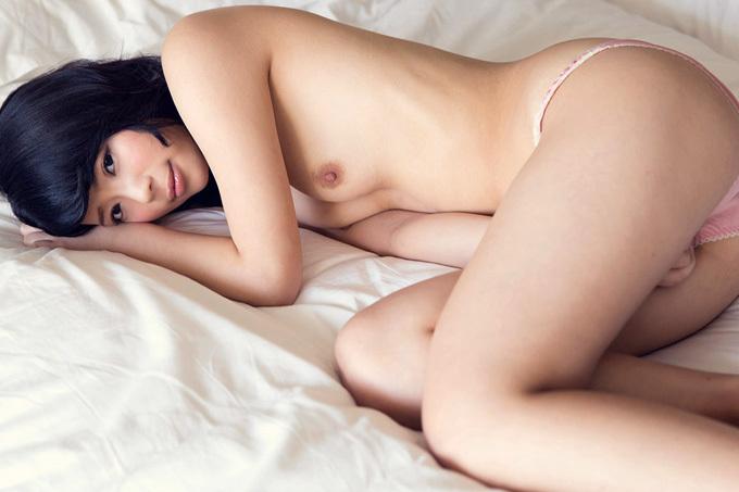 彩音舞衣 見つめ合って可愛く感じて…セックス画像