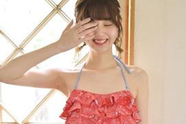 江野沢愛美(20)華奢なスレンダーモデルボディの水着姿がエッチ過ぎるww【エロ画像】