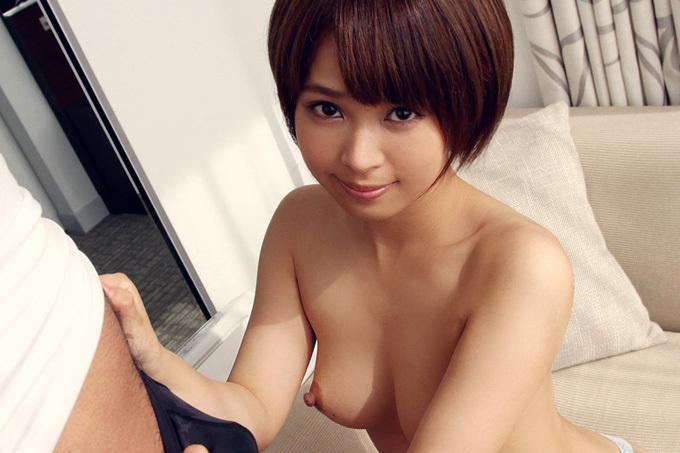 紗藤まゆ ショートカット&パイパン娘のセックス画像