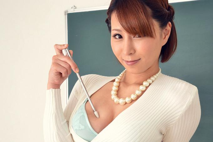 枢木みかん × 女教師