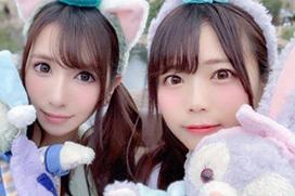 AV女優・羽咲みはると園田みおん、中学時代からの友達だった!プロフィールの嘘が早速バレるw