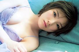 STU48キャプテン岡田奈々(20)がとってもセクシーになってきたグラビア画像