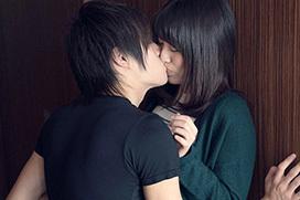 ドキドキする…ラブラブなキス画像