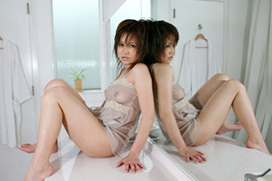3次元 スケスケ衣装が卑猥なシースルーお姉さんエロ画像 40枚