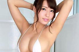 橋本梨菜(24) 日本一黒いグラドルのGカップ爆乳。