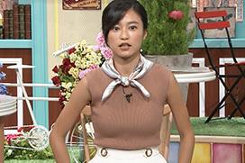 小島瑠璃子の肩こり首体操おっぱい