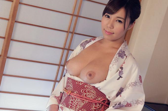 西条沙羅 艶やかな着物で絡み合う気持ちいいセックス