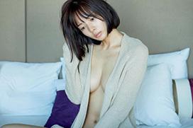 岡田紗佳、ブラを外しておっぱいを晒す!「エロ雀士」「藤田ニコルの巨乳バージョンだわ」