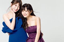 NMB48卒業する山本彩、撮り下ろしでエロい谷間ドレスおっぱい披露www