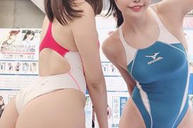 着たままハメたいヌク水・競泳水着のエロ画像 part67