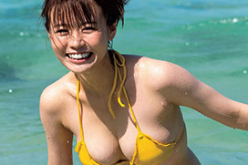 今年のグラビア界で一番活躍したのは井口綾子だろうか?