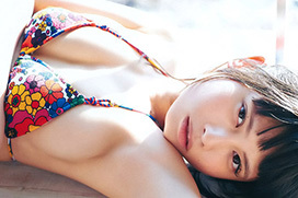 鹿目凛(21) ベボガ!の美少女がセクシービキニ。