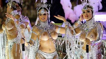 【仰天しながら勃起】サンバカーニバルとかいう露出狂の集まり