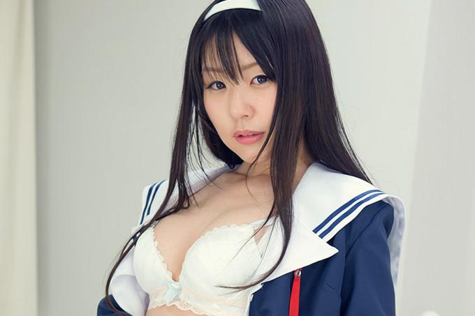 つぼみ × 制服