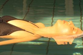 女優・新川優愛(24)水の中でおっぱいがプカプカwwwwwwwww(※画像あり)