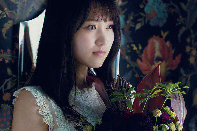 菅井友香 暑い夏を乗り越えて…大人びた秋色お嬢さん