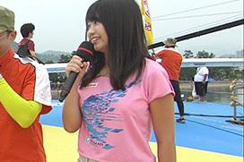 鳥人間コンテストで大原優乃のTシャツ巨乳