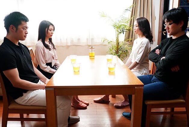 【スワッピング】夫婦喧嘩の解決を隣人夫婦と夫婦交換することによって解決を図るがガチに寝取られW不倫からの4P