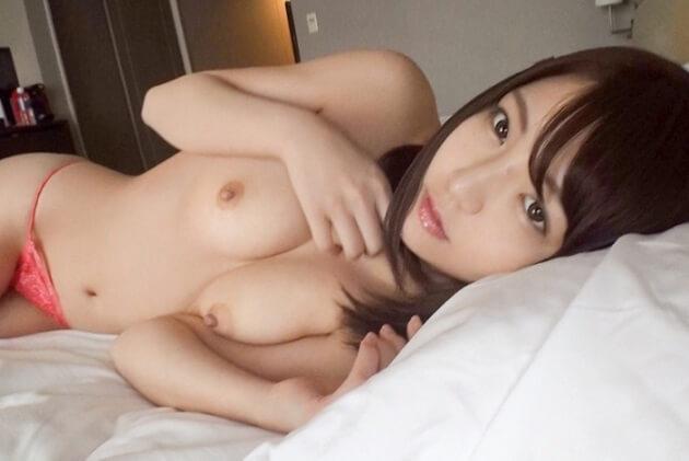 スレンダー高身長なアイドル系美少女とハメ撮り!お椀型のプルプル美乳を揺らして童顔素人ガチイキSEX!