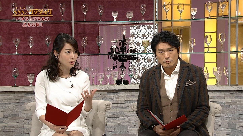 牛田茉友アナ うしまゆの純白ららら♪パンチラセクシー画像