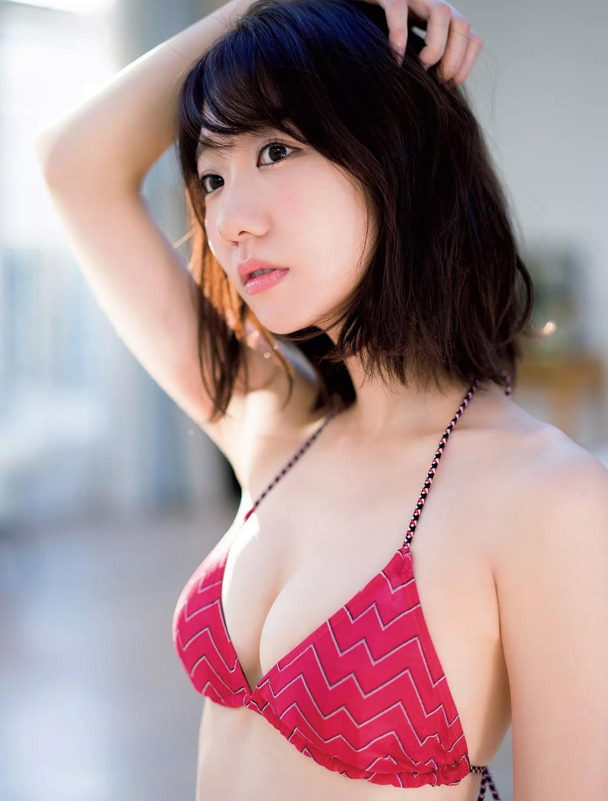 柏木由紀 ゆきりんの最新水着おっぱい極上くびれセクシー画像