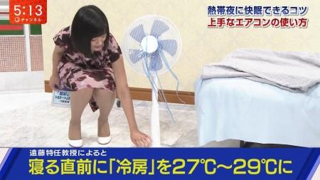 女子アナのスカートしゃがみ下半身&人妻透けパン線尻セクシー画像(テレ朝編)