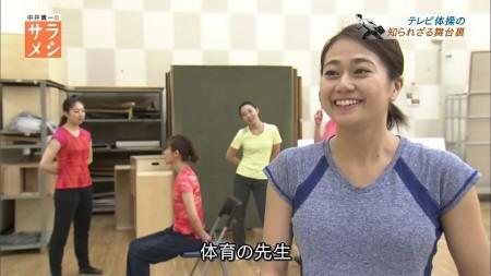 NHK「テレビ体操」お姉さんのレオタードお○ぱいセクシー画像