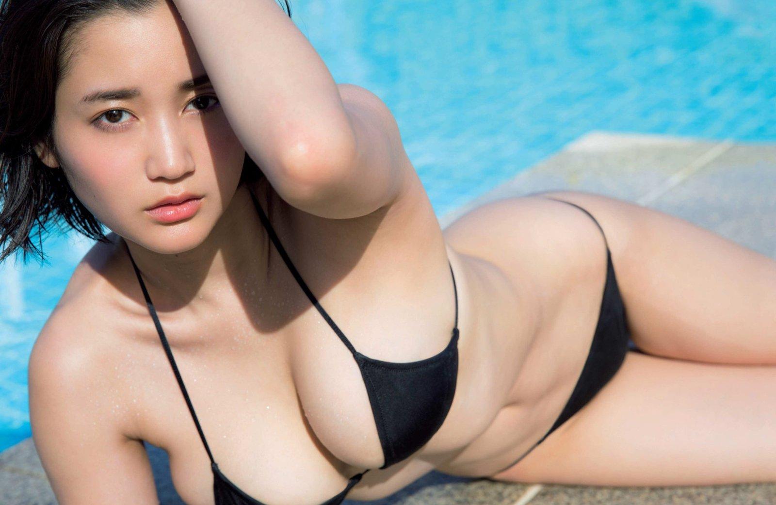 出口亜梨沙 関西美女レポーターのたわわ生乳Gカップセクシー画像