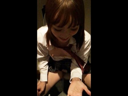 <個人撮影>東京都内の有名校に通うS級ヤリマン女子校生のぞみをスマホで撮影したリアルなハメ撮り動画が流出<美少女JK>