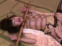 全身緊縛された性奴隷むっちり美女が敏感まんこを蝋燭攻めされてアヘ顔 - Pornhub.com - 200318-095739