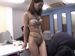 緊縛されて肢体を蹂躙する終わりなき凌辱調教の羞恥にむせび泣く美人秘書 - Pornhub.com - 200408-113626