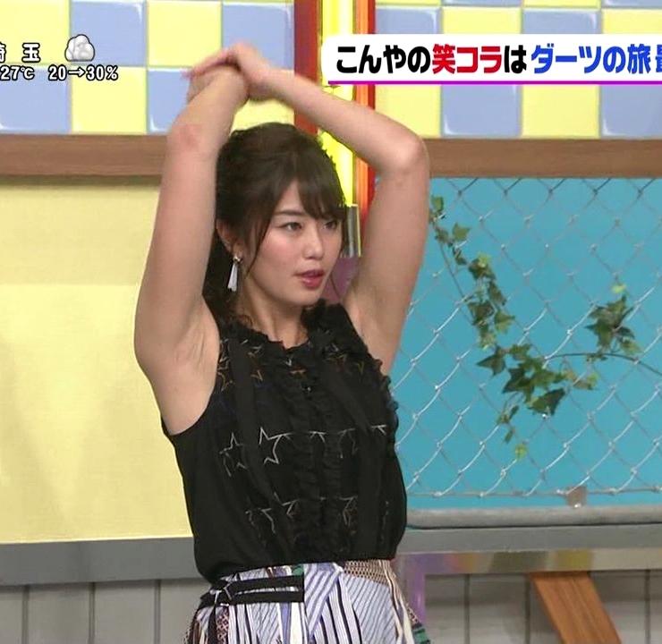 稲村亜美の腋キャプ (1)