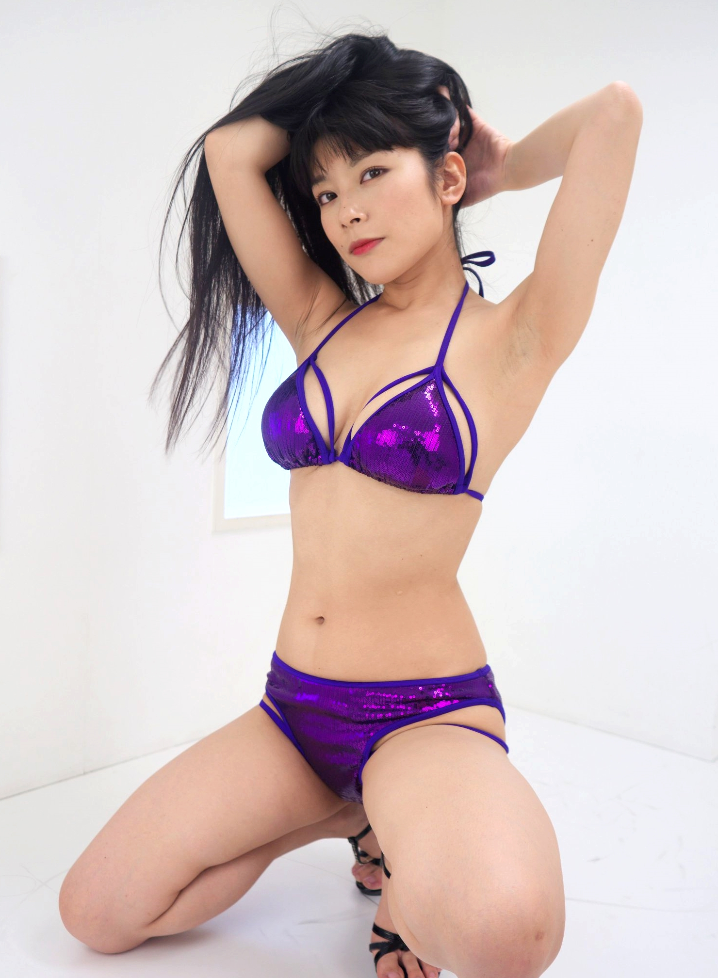 春野恵の黒ずみジョリ腋 (10)