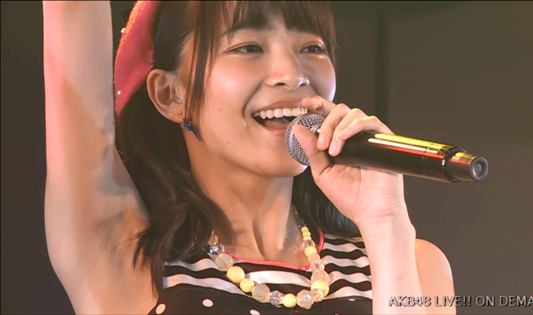 後藤萌咲の腋見せ公演 (11)