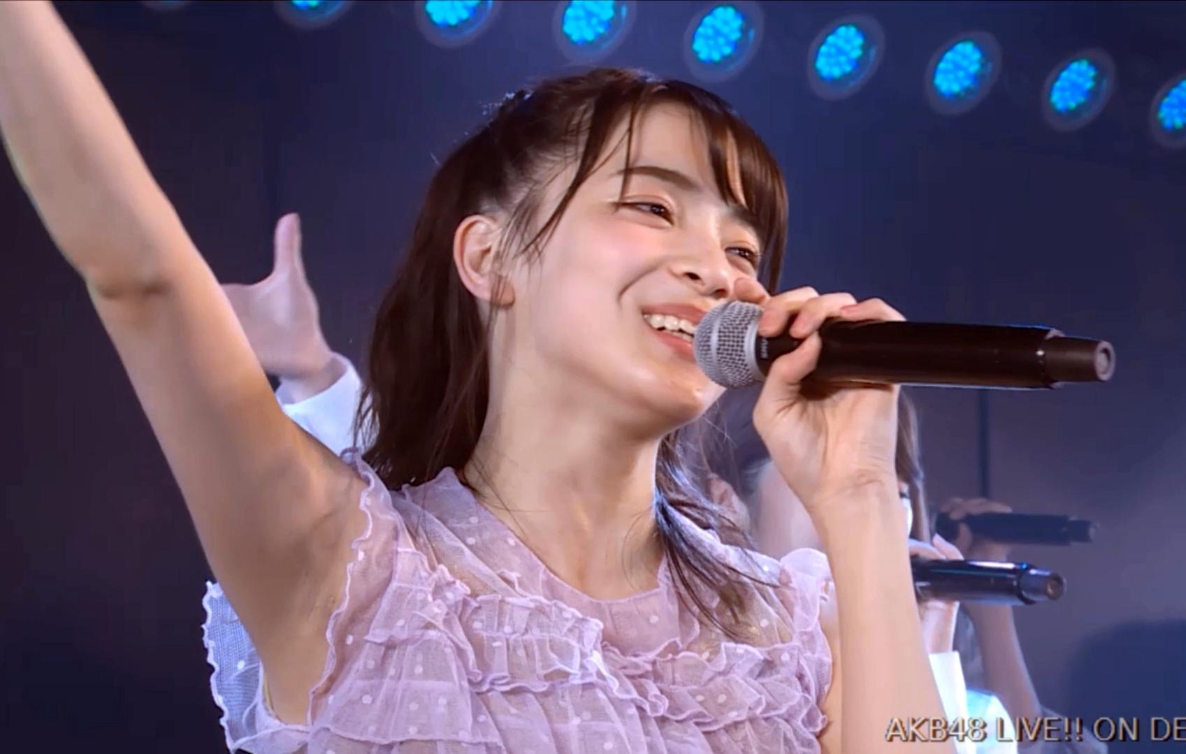 後藤萌咲の腋見せ公演 (17)