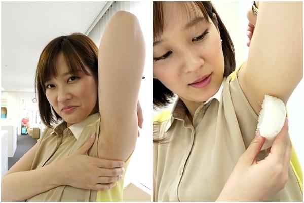 大木亜希子の腋おにぎり