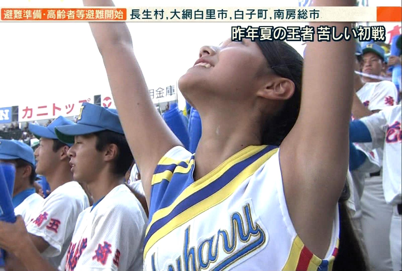 甲子園JKチア腋まとめ2018 (7)