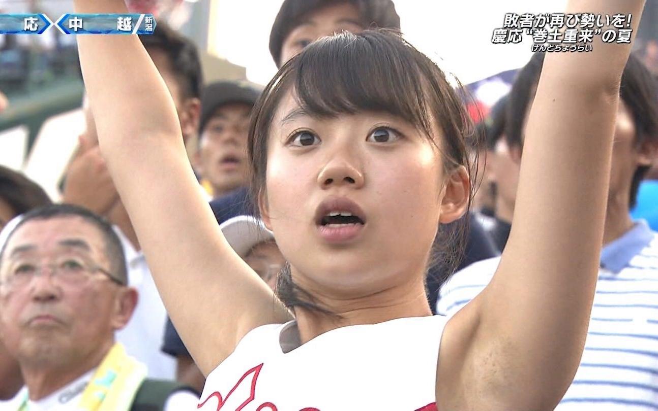 甲子園JKチア腋まとめ2018 (12)