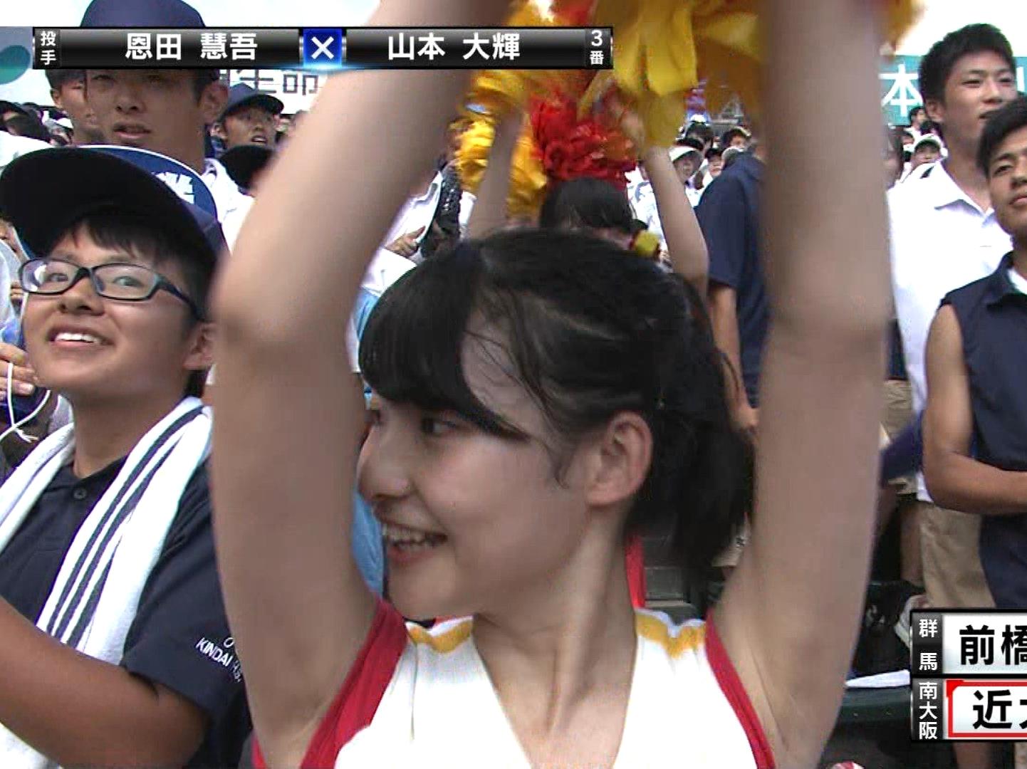 甲子園JKチア腋まとめ2018 (23)