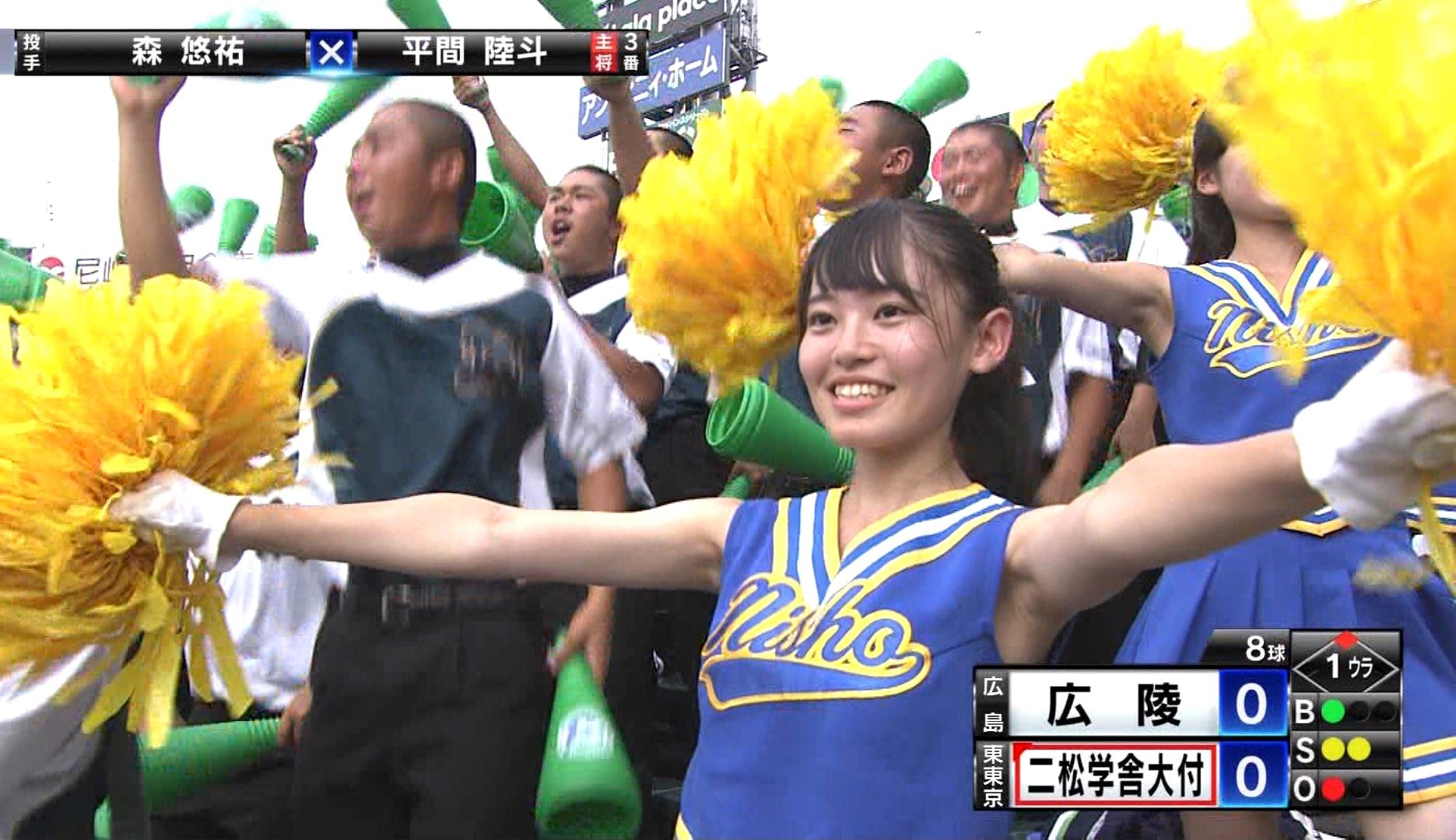 甲子園JKチア腋まとめ2018 (25)