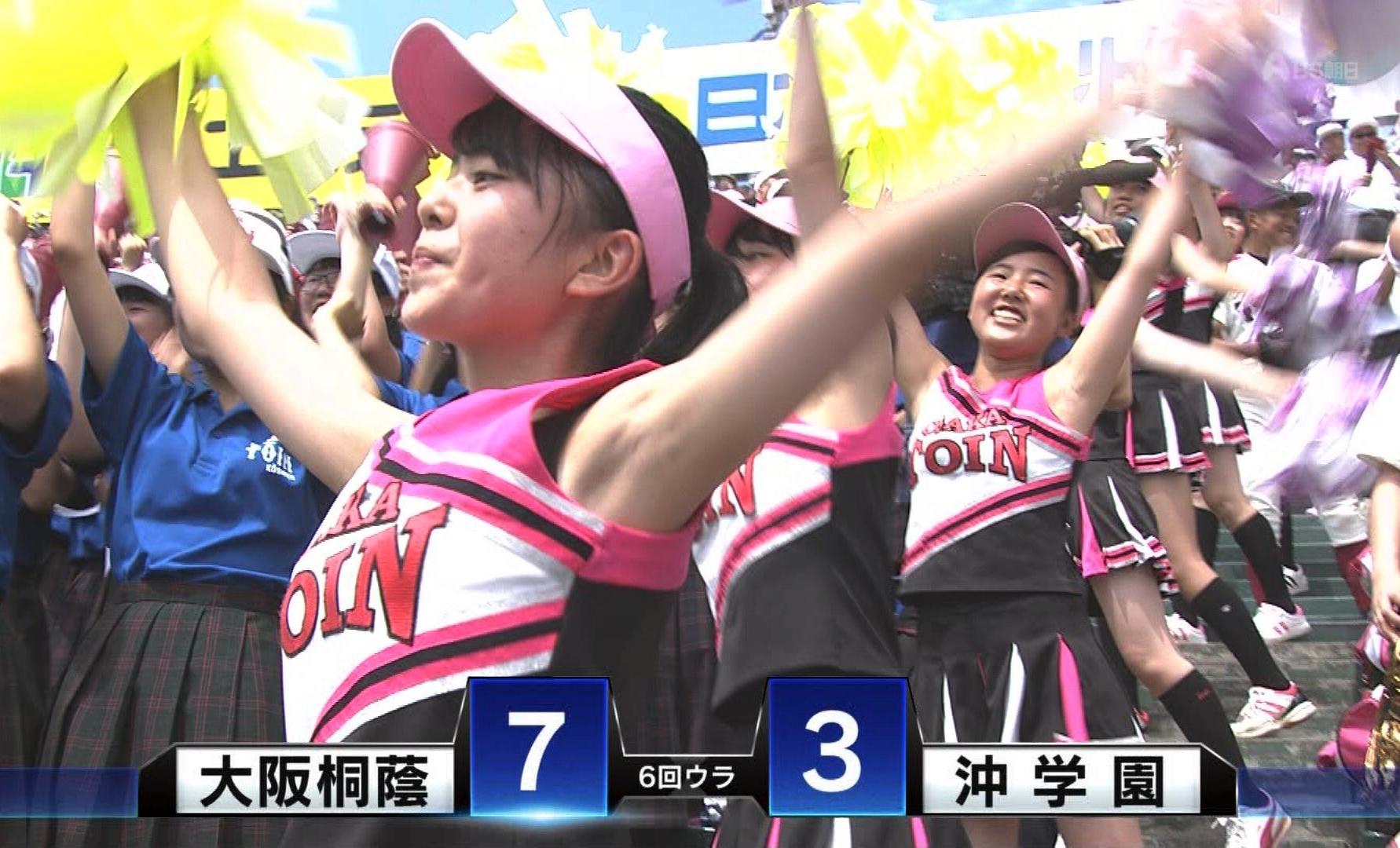 甲子園JKチア腋まとめ2018 (27)