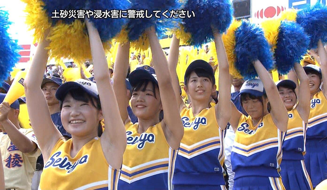甲子園JKチア腋まとめ2018 (31)