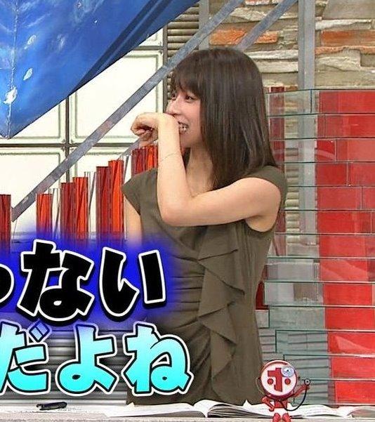 加藤綾子の腋汗2 (1)