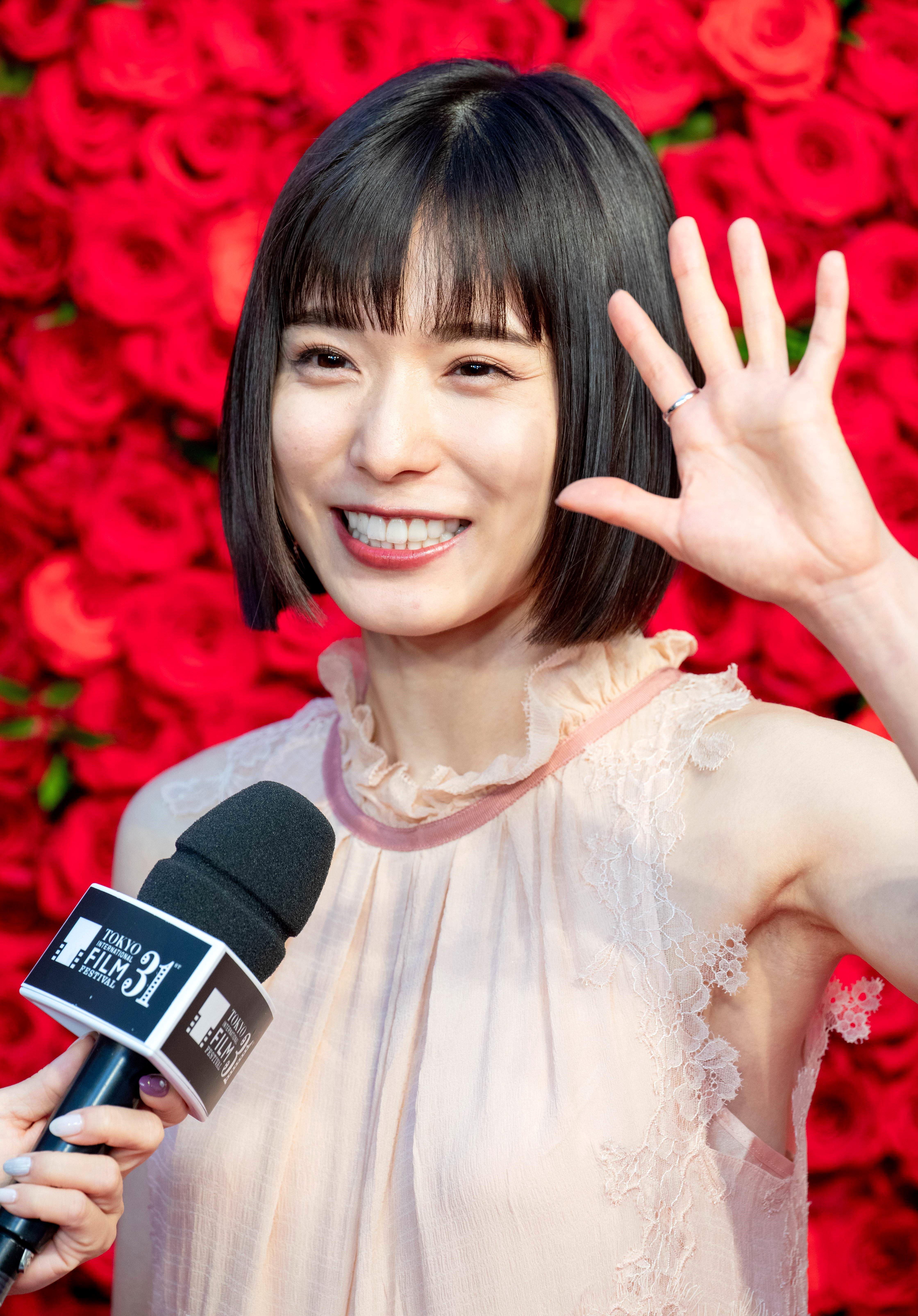 松岡茉優の高画質腋毛 (4)