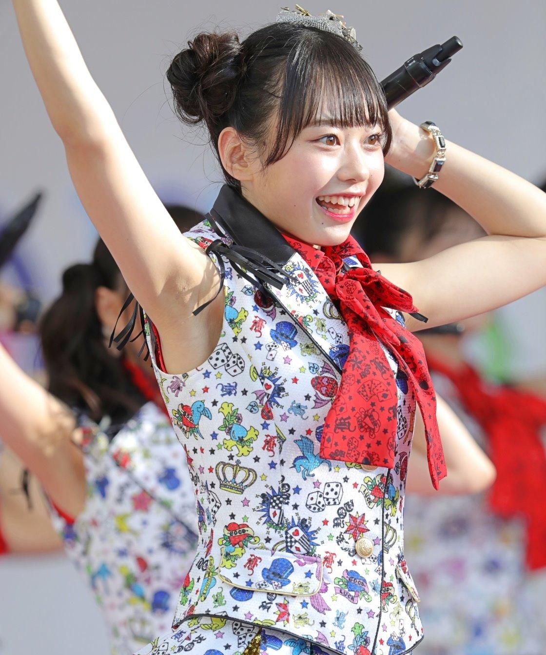 AKB48フレッシュ選抜メンバーの腋見せライブ (3)