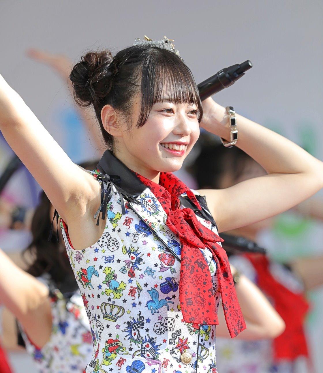 AKB48フレッシュ選抜メンバーの腋見せライブ (4)