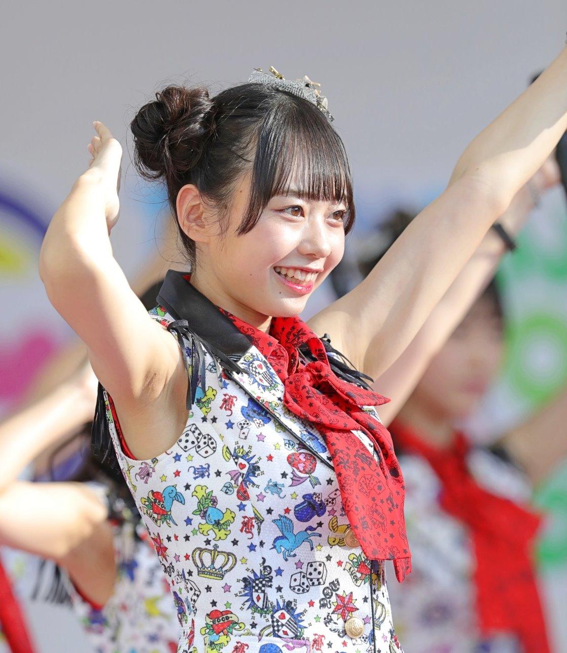 AKB48フレッシュ選抜メンバーの腋見せライブ (5)